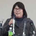 元看護助手の西山美香さん「真っ白な判決を」