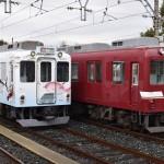 近畿日本鉄道の車庫で新旧の鮮魚運搬車両が公開