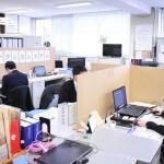 段ボールで感染を防げ、鳥取県庁舎内の予防対策