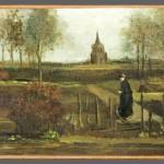 ゴッホの「春のニューネンの牧師館の庭」盗まれる