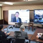 大西一史熊本市長が自宅でテレワークを開始