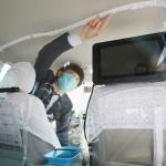 新型コロナ感染防ぎ、乗客とドライバーに安心を