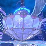 ミラビリス中央にそびえるドーム。ここへ入る事も可能な他、ワールド内には時間で開く扉が存在する。