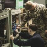 海兵隊、米海軍と洋上での初のサイバー防御訓練