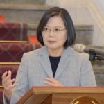 追い風の中、台湾の蔡英文総統があす2期目入り