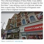ロンドンのアパート、「ハリポタ」誕生の地は?