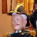 夢枕に立った海軍少将、薩摩人の 田中 綱常