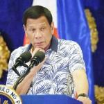 フィリピンのドゥテルテ大統領=2019年11月、マニラ(AFP時事)