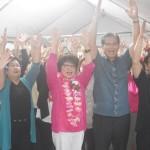 沖縄県議選、与党が辛うじて過半数を維持