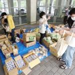 大学や教員が困窮学生に米や野菜など食料支援