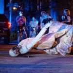 全米各地で広がる南北戦争の南軍記念像の撤去