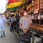 上野のアメ横商店街、コロナ前の喧騒には程遠く