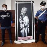 バンクシー作品の盗難、フランスで6人を拘束