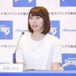 バレーボール全日本女子の新鍋理沙が引退会見