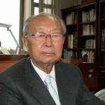 白善燁氏(2010年3月、ソウル市内の事務所で上田勇実撮影)