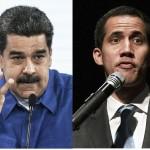 ベネズエラのマドゥロ大統領(左)と「暫定大統領」を名乗るグアイド欧州、新段階に 国会議長(AFP時事)