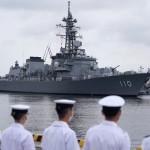 海自護衛艦「たかなみ」が横須賀基地に帰港