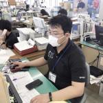 長野県佐久市、台風復興支援でポロシャツ着用