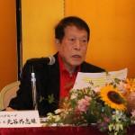 元谷氏、戦後のジャーナリズムに警鐘を鳴らす