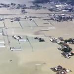 九州北部で7日も豪雨、河川の氾濫で広域浸水