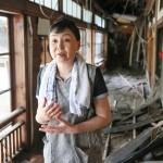 球磨川沿いの人吉温泉の旅館も軒並み浸水