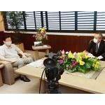 川勝静岡県知事、リニア工事の国提案を拒否