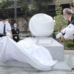 母子死亡の池袋暴走現場付近に慰霊碑を設置