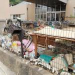熊本豪雨災害発生から2週間、球磨村で黙とう