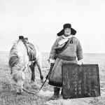 内モンゴル自治区の遊牧民(南モンゴルクリルタイ提供)