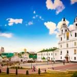 ミンスクの聖母と呼ばれる「聖霊大聖堂」(ベラルーシ共和国観光情報サイトから)