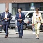 独SPDの筆頭首相候補者にショルツ財務相(中央)を選出(ショルツ財務相の公式サイドから)