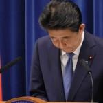 記者会見で国民への感謝を述べる安倍晋三首相(2020年8月28日、首相官邸HPから)
