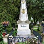 ▲中央墓地のベートーヴェンの墓(2017年10月、撮影)