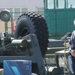 国営企業MZKTを視察したルカシェンコ大統領(2020年8月17日、ルカシェンコ大統領公式サイトから)