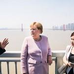 昨年9月、中国武漢市を視察中のメルケル独首相(独連邦首相府公式サイトから)