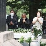 民団の李英俊団長「世界平和続くよう努力する」