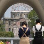 犠牲者に祈りを、きょう75 回目の広島原爆忌