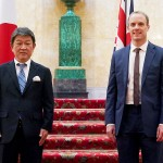 日英外相会談、「香港」と「コロナ」で連携
