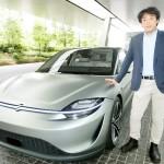 ソニーがEV「VISION-S」の試作車を公開