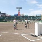 各校1試合だけの夏、高校野球交流試合が開幕