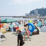 混雑対策「熱海サンビーチ」で夏休み満喫