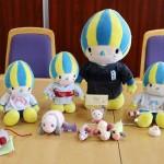 岐阜県のマスコット「ミナモ」が職員の癒やし