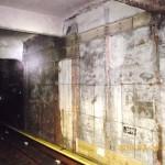 地下9・3m、東京メトロ銀座駅の構内に空襲跡