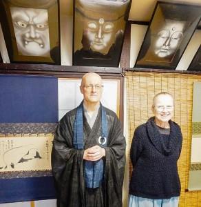 ポーランド人禅僧 如玄ノバクさん、エバ・ハディドンさん夫妻