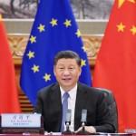 習近平国家主席、欧州連合首脳とビデオ会談(2020年6月23日、新華社サイトから)