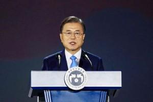 文在寅大統領(AFP時事)