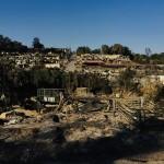 火災直後のモリア難民キャンプの状況(2020年9月14日、国連難民高等弁務官事務所(UNHCR)公式サイトから)