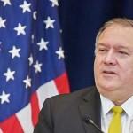 ポンペオ米国務長官=8月19日、ワシントン(AFP時事)