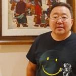 モンゴル語教育継続に向けた運動への参加を呼び掛けるツァヒア・エルベグドルジ前大統領(Facebookより)