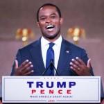 8月25日、米共和党大会で演説した黒人のダニエル・キャメロン・ケンタッキー州司法長官(UPI)